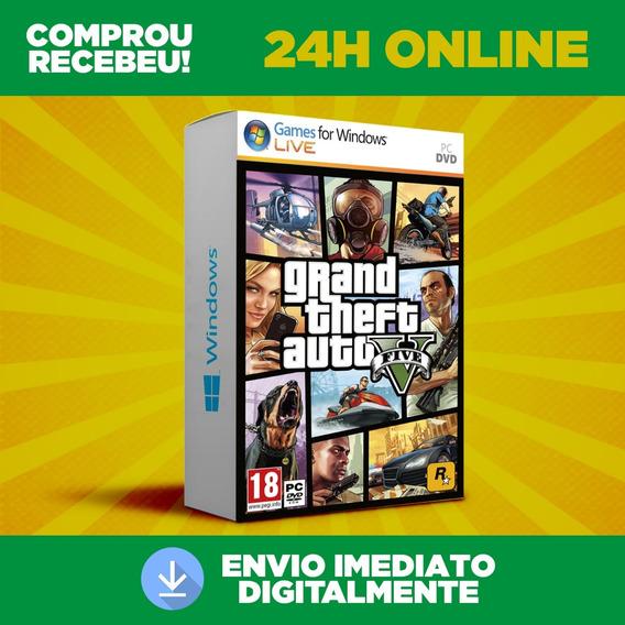 Gta 5 Pc + Dlc + Grand Theft Auto V Envio Na Hora Imediato