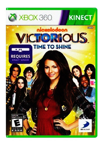 Victorious: Time To Shine - Xbox 360 (kinect) - Xuruguay