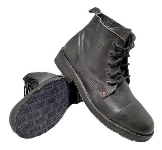 Zapatos Botas Levis Track 59 Negro Hombre 157790 Eezap
