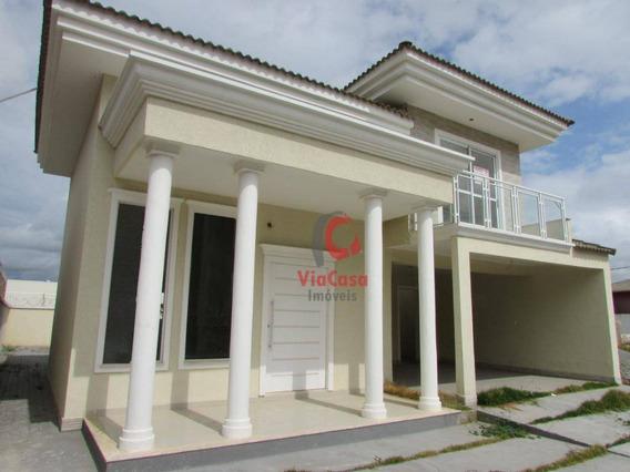 Excelente Duplex 3 Quartos, Vale Dos Cristais, Macaé - Ca1567