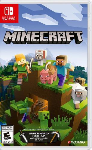 Imagen 1 de 9 de Minecraft Juego Nintendo Switch-fisico Mipowerdestiny
