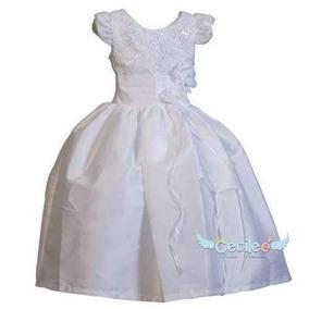 Vestido Para Ocasiones Especiales En Tono Blanco
