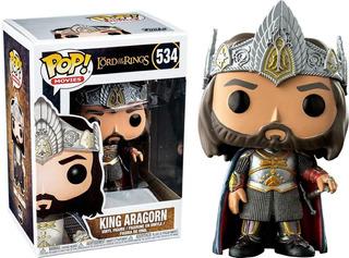Funko Pop King Aragorn 534 The Lord Of The Rings -minijuegos