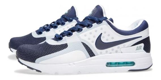 Nike Air Max Zero Og Qs White Blue 38 Br Novo
