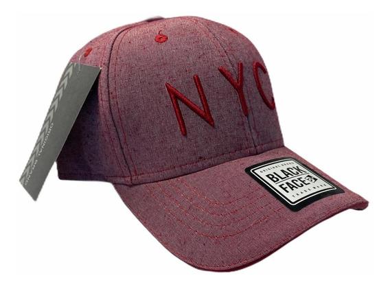 Boné Aba Curva Strapback Fitão Nyc New York City Original