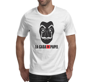 Camiseta La Casa De Papel 3 - Branca