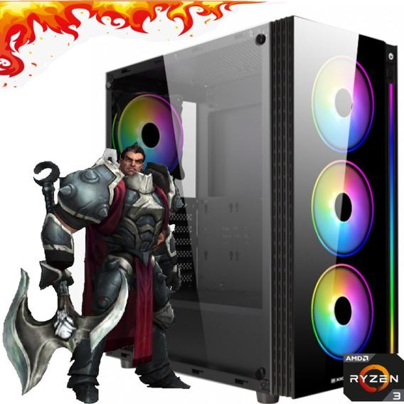 Computador Gamer Amd Ryzen 3200 16gb Ssd 240gb Radeon Vega 8