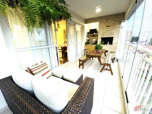 Imagem 1 de 15 de Apartamento Para Venda Em São Paulo, Campo Belo, 3 Dormitórios, 1 Suíte, 3 Banheiros, 2 Vagas - Cablm1069_2-1146287