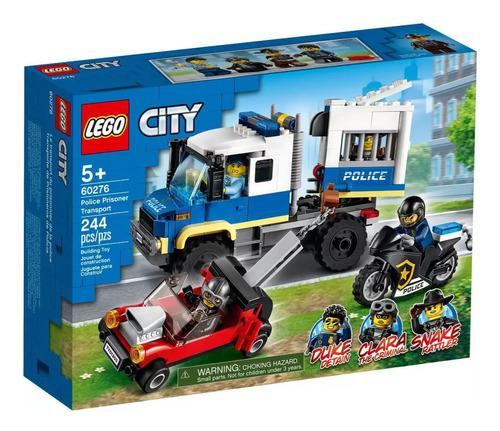 Lego City - Transporte De Prisioneiros Da Polícia - 60276