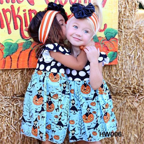 Vestido Para Niña De Halloween