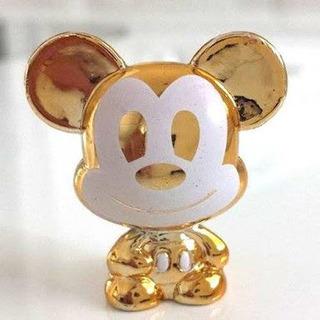 Disney Gogos Mickey Dourado Altura 3 Cm