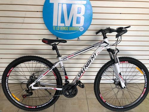 Bicicleta Splendent Aro 29 Mtb Complementos Shimano 100% Alu