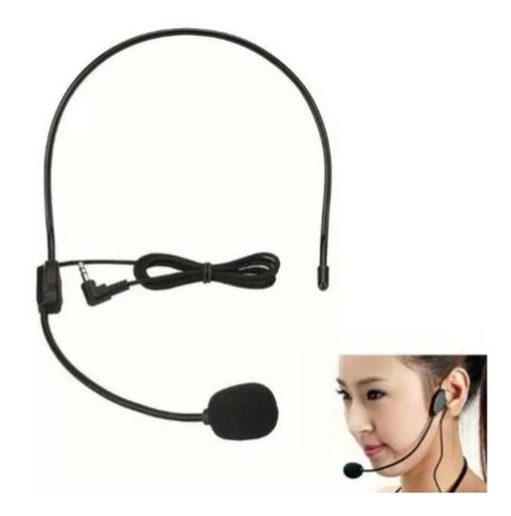 Microfone Headset Auricular De Cabeça Para Desktop Notebook