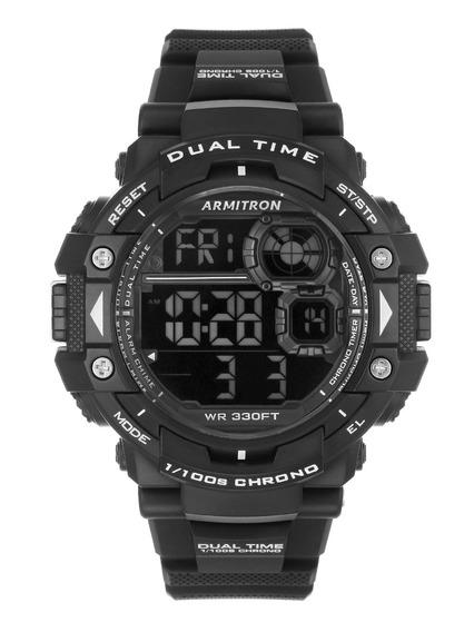 Reloj Deportivo De Resina Color Negro Para Hombre 563257970