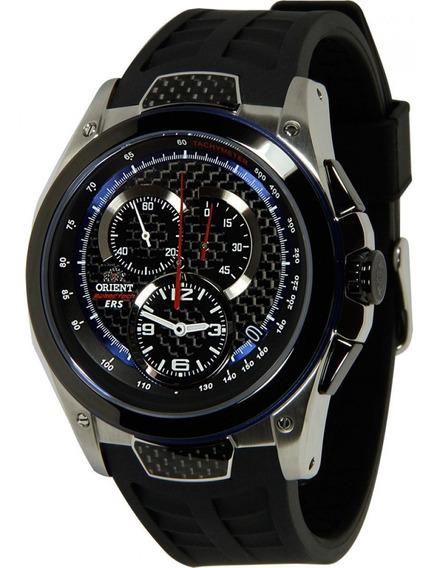 Relógio Orient Kt00002b Speed Tech Vidro Safira Frete Grátis