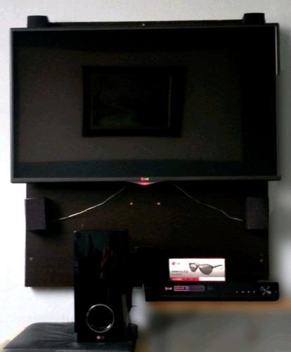 Smart Tv LG 3d 42 Polegadas + Home Theater Blue Ray 3d
