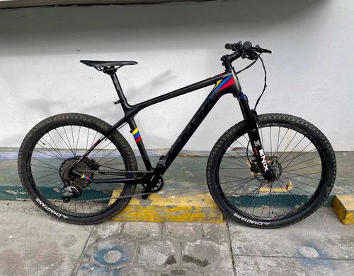 Imagen 1 de 7 de Bicicleta Santa Ana Cima De Carbono Xc Cross Montaña 27.5 L