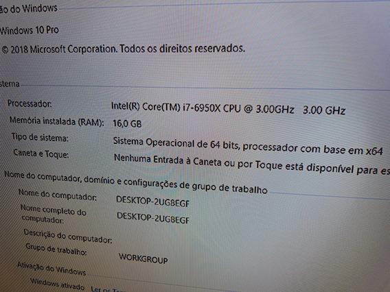 Intel I7 6950x Extreme