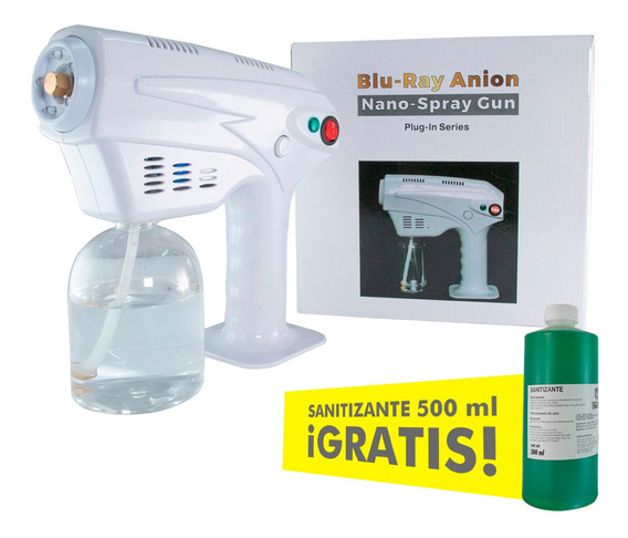 Difusor Desinfectante Sanitizante Inalambrico Recargable Uv