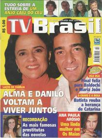 Revista Tv Brasil 54 - Janeiro 2001 - Capa Laços De Família