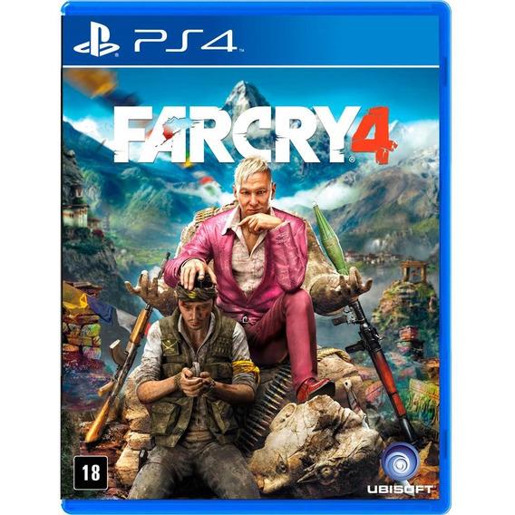 Far Cry 4 Ps4 Mídia Física Novo Lacrado