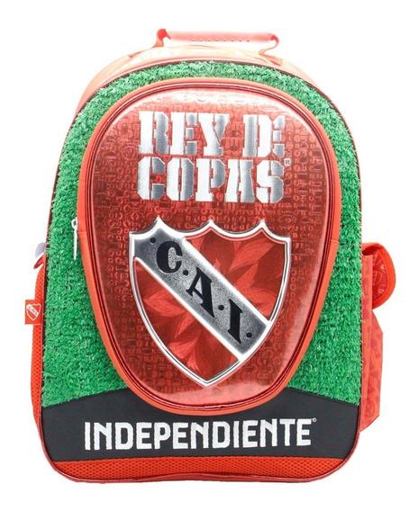 Mochila Espalda Grande 18p Futbol Independiente In003 Manias