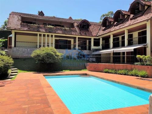 Casa Com 5 Dormitórios À Venda, 1102 M² Por R$ 5.000.000,00 - Chácara Do Refúgio - Carapicuíba/sp - Ca0659