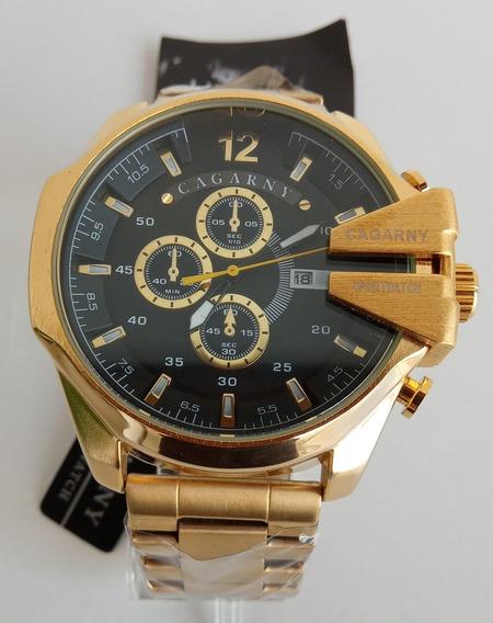 Promoção: Relógio Masculino De Luxo A Prova D