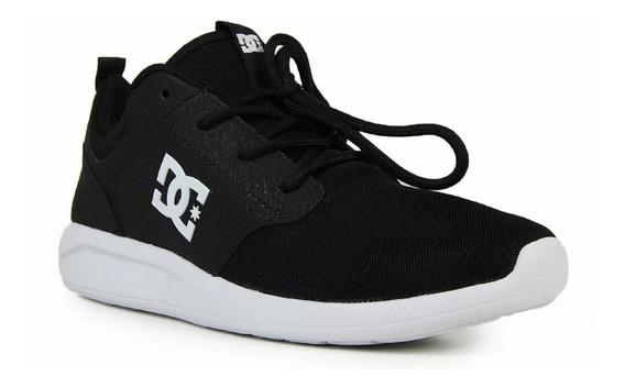 Tênis Dc Shoes Midway Preto/branco 2.13545