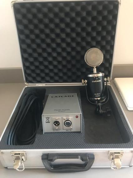 Microfone Cascade Elroy - Condenser Tube Multipatern