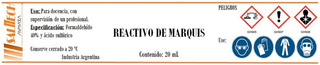 Reactivo Test De Marquis X 10 Ml - Calidad Salttech