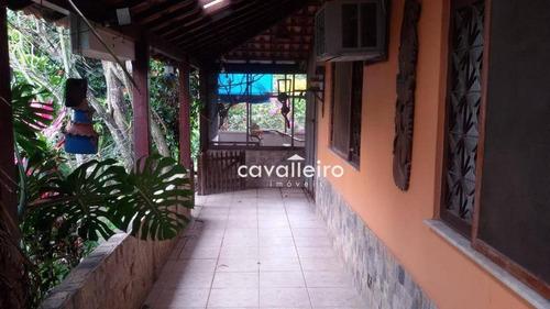 Casa Residencial À Venda, São José Do Imbassaí, Maricá. - Ca3220