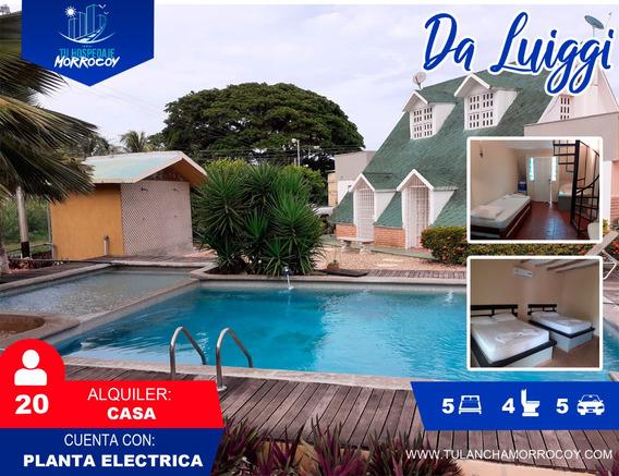 Alquiler De Casas Apartamentos En Tucacas Morrocoy #01