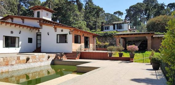 Casa En Valle De Bravo Con Alberca