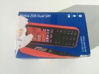 Celular Nokia Asha 208 Rm957 Desbloqueado Anatel Usado