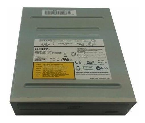Drive Gravador De Cd Sony Crx230ee Ide