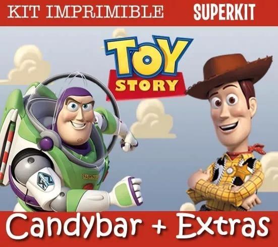 Kit Imprimible Toy Story Nenes Invitaciones Cumpleaños