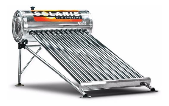 Calentador Solar Solaris12 Tubos Para 4 Personas 150 Litros