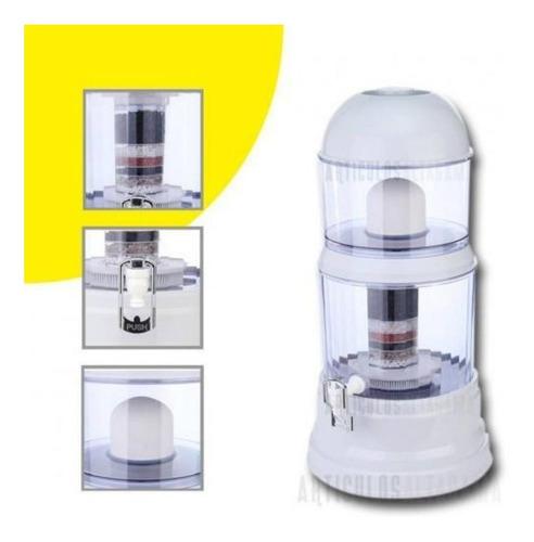 Filtro Purificador De Agua 14 Litros Bioenergetico Completo.