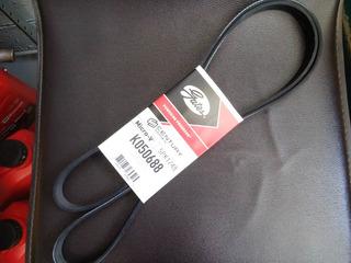 Banda De Accesorios Gates Platina Clio Con Aire