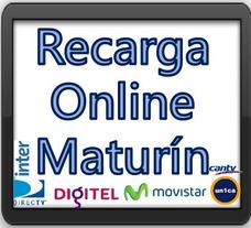 Recarga Movistar Digitel Movilnet Directv