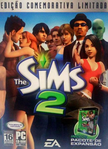 Jogo Pc Sims 2 Edição Comemorativa Limitada Em Português Box