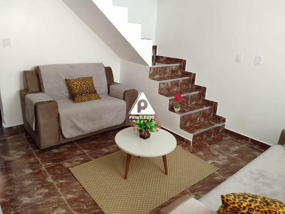 Linda Casa Duplex De Dois Quartos Com Garagem - 25353