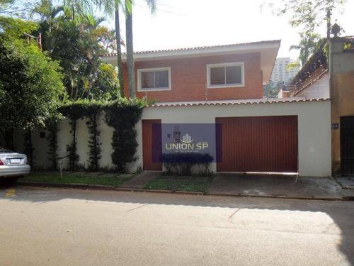 Imagem 1 de 30 de Casa Com 4 Dormitórios, 450 M² - Venda Por R$ 1.950.000,00 Ou Aluguel Por R$ 9.500,00/mês - Morumbi - São Paulo/sp - Ca0905