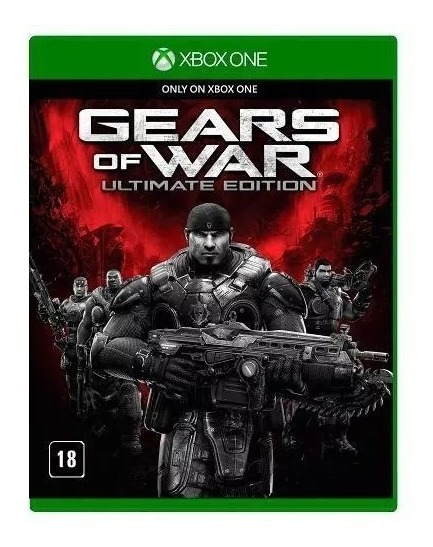 Gears Of War Ultimate Edition Xbox One - Mídia Física Pt Br