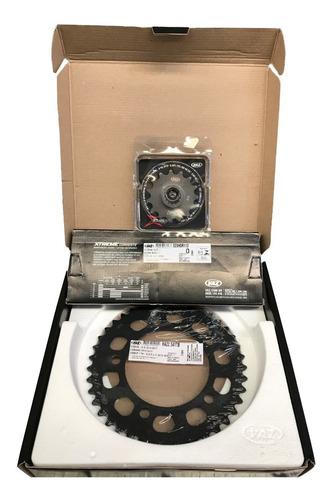 Imagem 1 de 5 de Kit Relação Cb500e Cb 500x-d,e Com Retentor H04001x