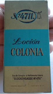 Monijor62 Antigua Locion Colonia Nº 4711 Completa En Su Caja