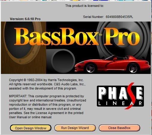 Bass Box 6 Pro Completo