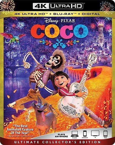 Coco Disney Pixar 4k Blu Ray Ultra Hd Original Importado Cp
