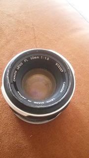 Lente De Camara Canon 50mm 1,8